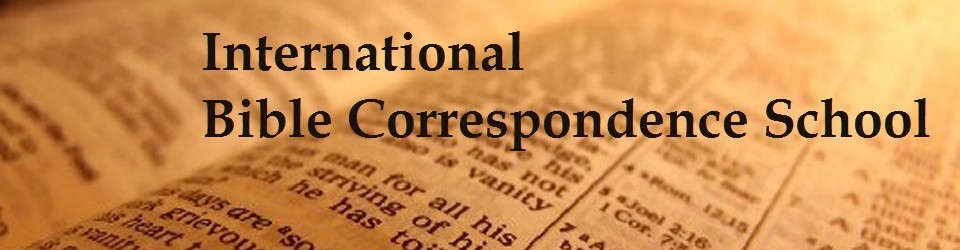 International Bible Correspondence School